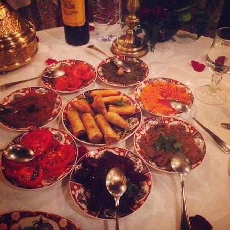 Riad Kniza Restaurant : What a spread, delicious!