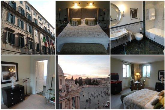 Hotel De Russie: Zimmer und Blick