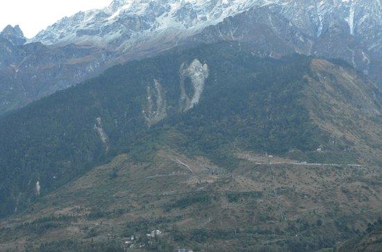 Modern Residency: Image of Ganesha on the hills