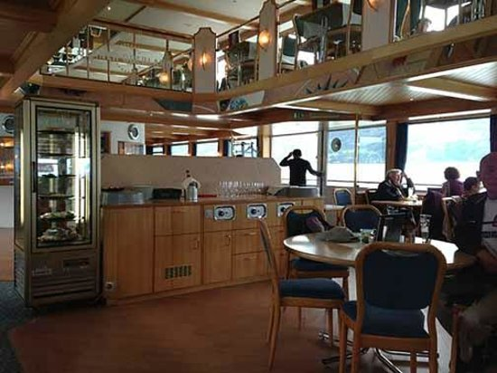 BLS Schifffahrt : On the boat