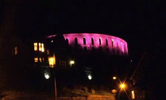 McCaig's Tower by night