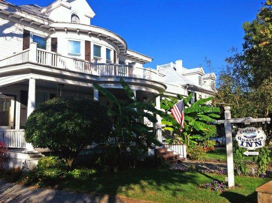 Captain's Quarters Inn: Lovely B&B