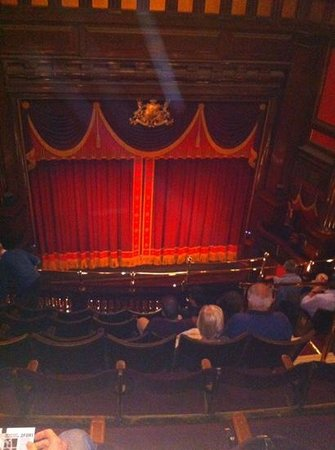 St. Martins Theatre : upper circle row H