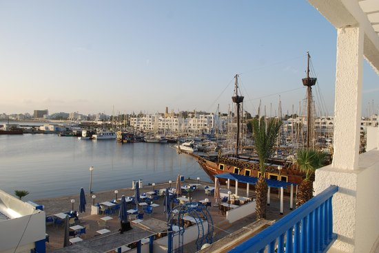 Marina Cap Monastir Aparthotel: View from our deck