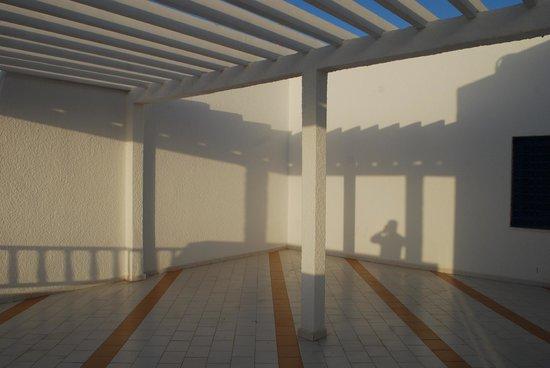 Marina Cap Monastir Aparthotel: Our large deck