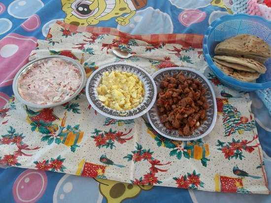Aswan Felucca Tours : Some of Safi's delicious food