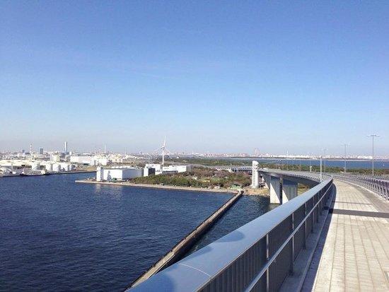 Tokyo Gate Bridge: 若洲方向