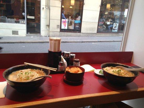 Sapporo Ramen : pranzo con vista :)