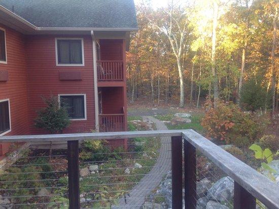 Minnewaska Lodge: View from room