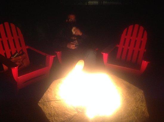 Minnewaska Lodge: Fire Pit