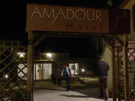 Amadour Hotel : L'arrivée