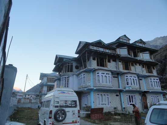 Panchali : the hotel building...