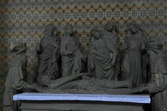 St. Gangolf: Detail im Inneren