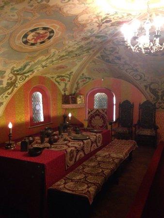 Chambers of The Romanov Boyars: Men's chamber