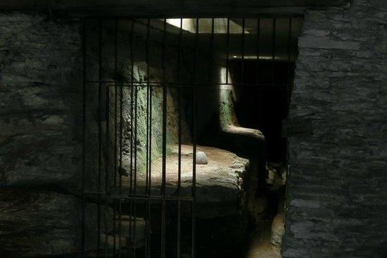 Amphitheater: im Untergrund