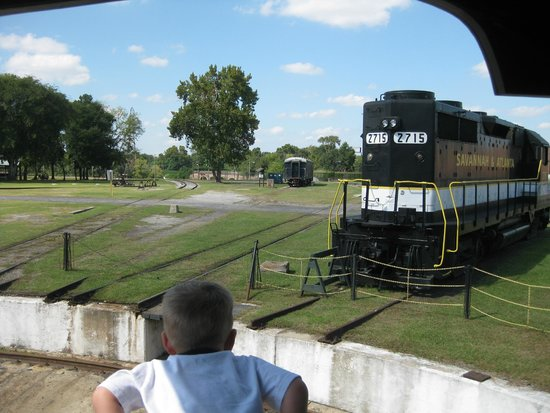Georgia State Railroad Museum: Train