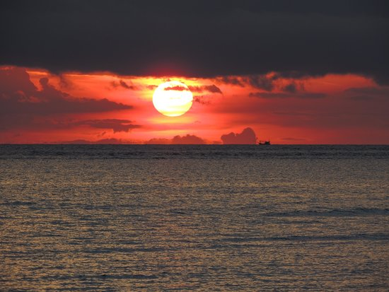 Sunset @ Nice Sea Resort Srithanu Beach