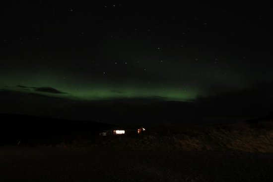 Northern Lights from Hotel Glymur
