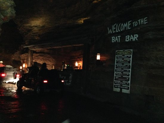 Top Of The Rock Golf Course Bat Bar In Cave On Nature Trail