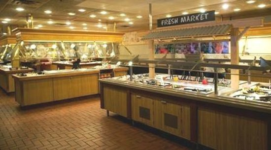 Salad bar picture of all american food buffet southgate for All american cuisine