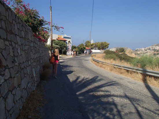 Agia Pelagia, Greece: The road to Lygaria