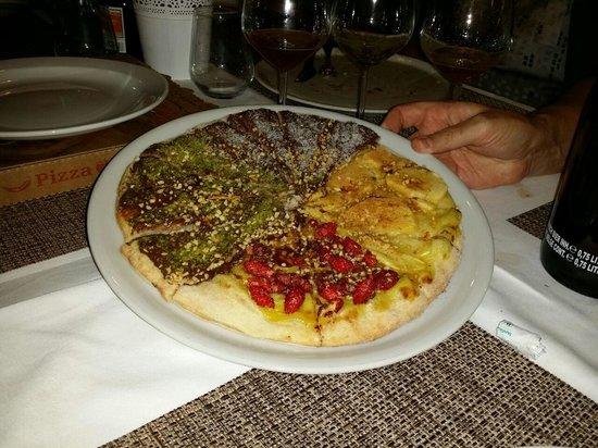 Rosso Pizza: ecco la pizza dolce. mmmmmm