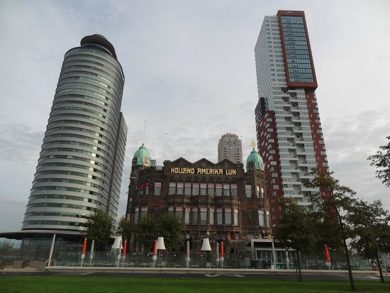 Old And Modern Architecture Picture Of Hotel New York Rotterdam