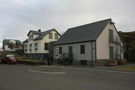 The Settlement Center: The Settlement Centre, Borganes