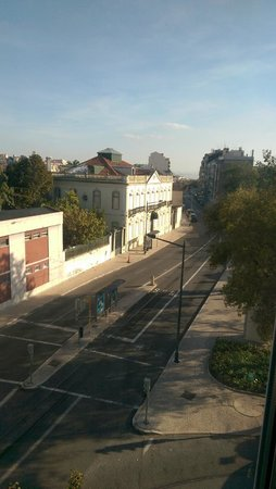 Hotel Princesa Lisboa Centro : view from room
