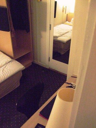 Zleep Hotel Copenhagen City: Room entrance