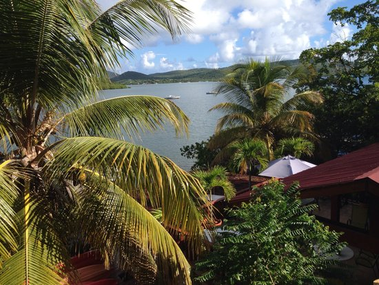 Villa Pelicano: View from the upstairs deck