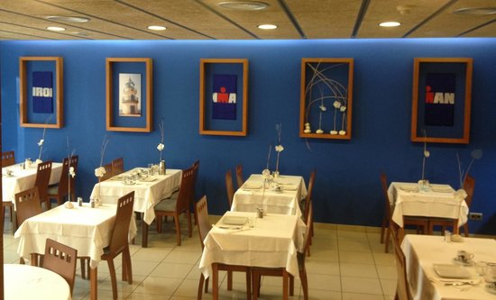 B&B El Pekinaire: The breakfast dining room