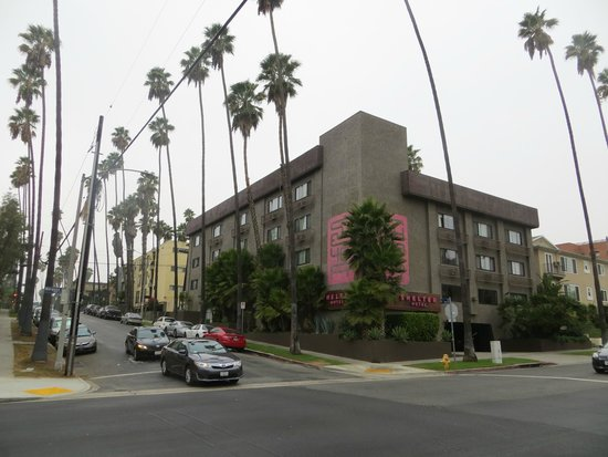 Shelter Hotels Los Angeles: hotel exterior