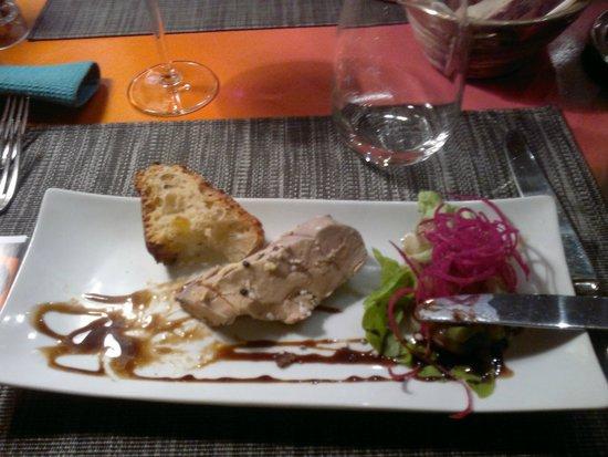 Le Quatre Saisons : Foie gras maison..quelle delice..