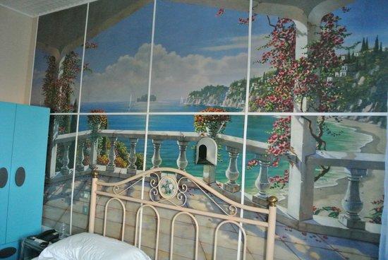 Hotel Parco Europa: funny but original decor