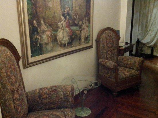 Hotel Sant Angelo: pasillo del hotel