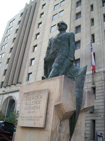 Plaza de la Constitucion : Salvador Allende