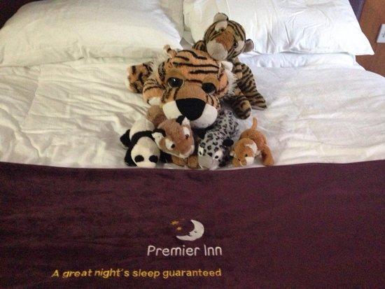Premier Inn Newcastle (Washington) Hotel: The boys always enjoy a premier inn outing and always have a good sleep lol