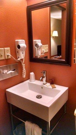Dakotah Lodge: Cute 'euro' sink