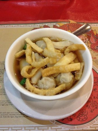 Ming's Garden Restaurant: Wonton soup.