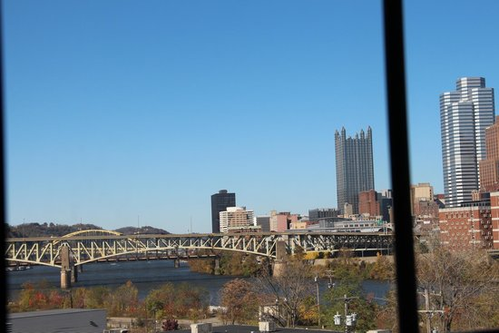 Holiday Inn Express & Suites Pittsburgh-South Side: view from room