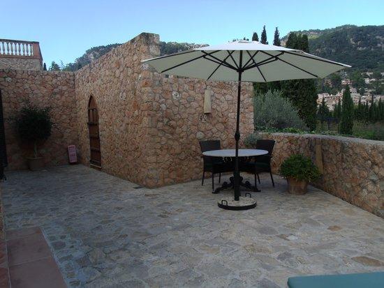 Valldemossa Hotel: My terrasse
