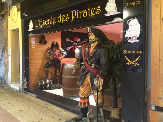 L'escale des pirates