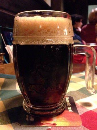 Restaurace U Svejka : Велкопоповицкий Козел темное - вкуснейшее пиво