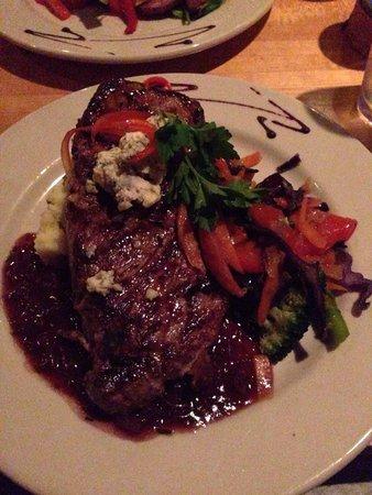Bandaloop: Steak- it was huge!