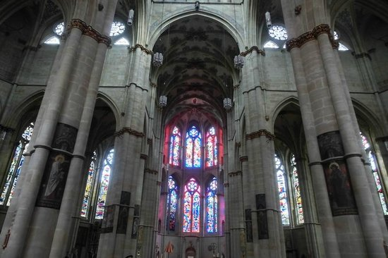 Liebfrauenkirche: prachtvoller Innenraum
