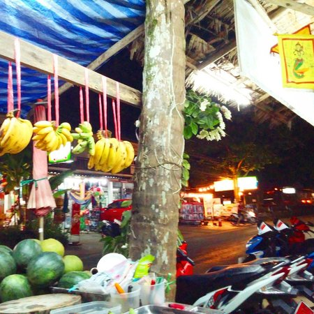 The Kitchen: Produce stand street front part of business