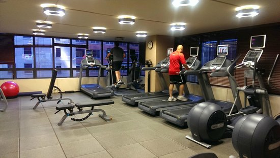 The Marquette : Fitness Center has lots of new equipment