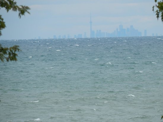 Lake Ontario: Toronto on the other side.