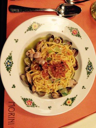 Osteria Morini: Pasta with seafood